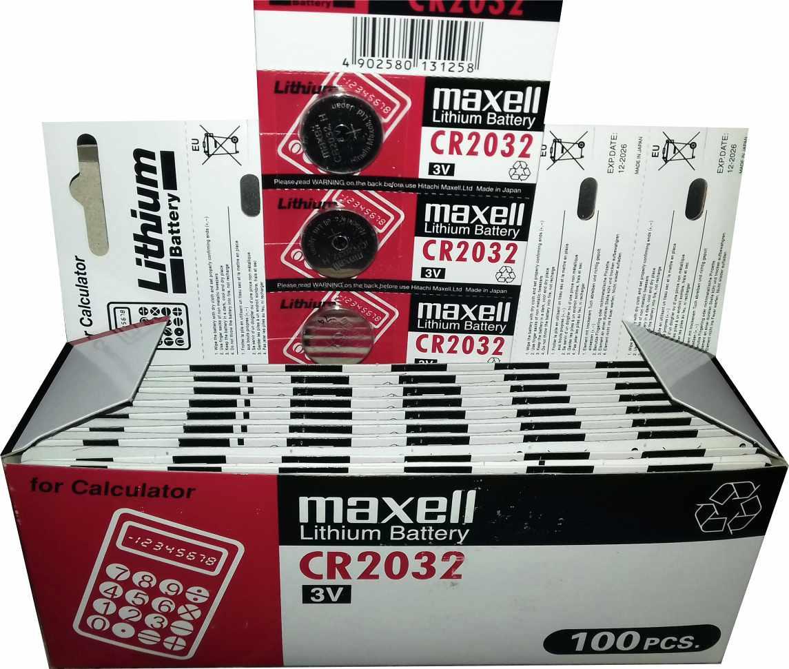 باتری سکه ای ۲۰۳۲ مکسل (5عدد)