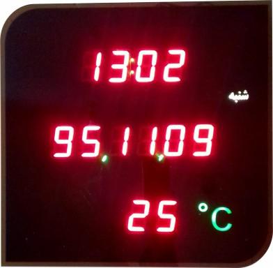 ساعت دیواری دیجیتال مدل کامفی