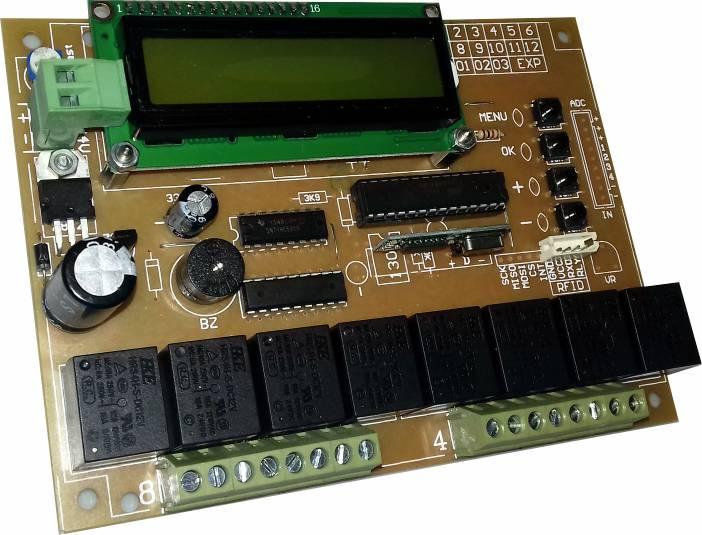 رسیور هشت رله صنعتی السیدی (ریموت+RFID)