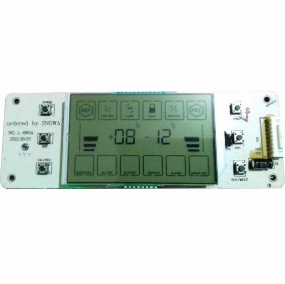 نمایشگر یخچال فریزر اسنوا 810